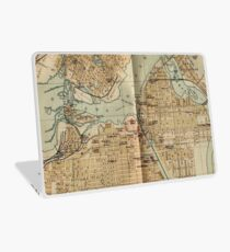 Vintage Map of Ottawa Canada (1894) Laptop Skin