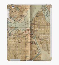 Vintage Map of Ottawa Canada (1894) iPad Case/Skin