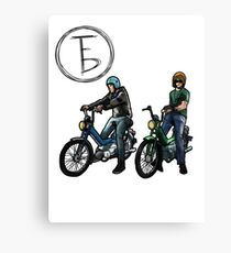 The Frontbottoms Motorcycle Club Canvas Print