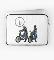 The Frontbottoms Motorcycle Club Laptop Sleeve