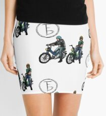 The Frontbottoms Motorcycle Club Mini Skirt