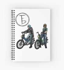 The Frontbottoms Motorcycle Club Spiral Notebook