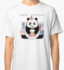 PANDA HAPPY BIRTHDAY Classic T-Shirt
