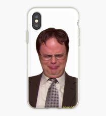 """Vinilo o funda para iPhone """"¿Me importa que Michael no me haya invitado a su cena?"""""""