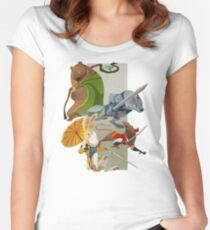 For the Crown Women's Fitted Scoop T-Shirt