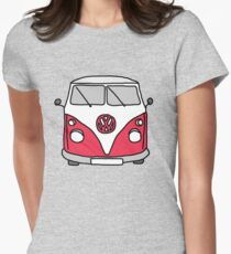 VW Camper Womens Fitted T-Shirt