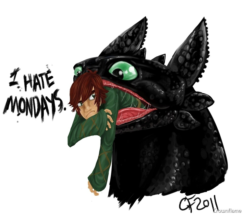 I Hate Mondays by Crownflame