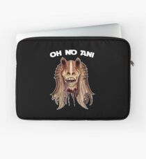 Oh No Ani - Dead Jar Jar Laptop Sleeve