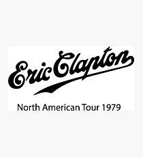 eric clapton tour  Photographic Print
