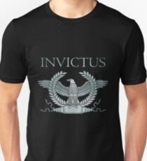 Roman Silver Invictus Eagle Unisex T-Shirt
