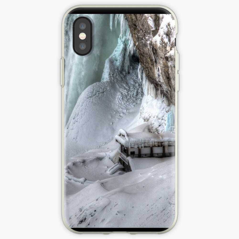 House by the falls iPhone Case & Cover