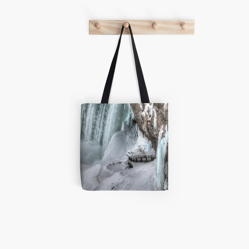 House by the falls Tote Bag
