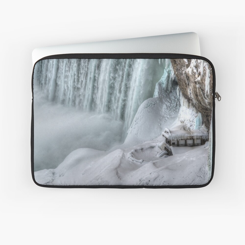 House by the falls Laptop Sleeve