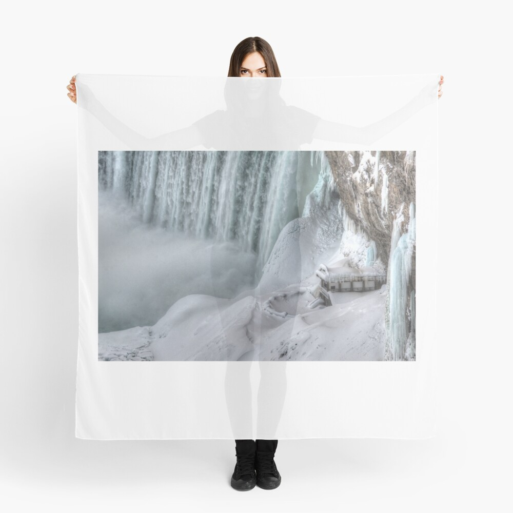 House by the falls Scarf