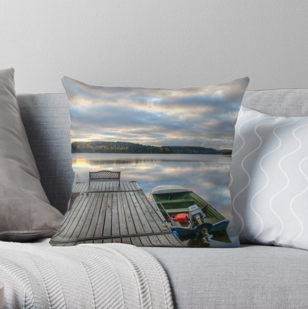 Cottage Life Throw Pillow
