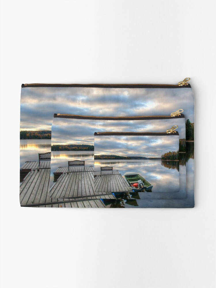 Alternate view of Cottage Life Zipper Pouch