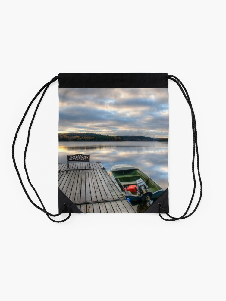 Alternate view of Cottage Life Drawstring Bag