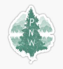 Pegatina noroeste pacífico
