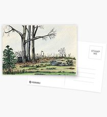 Gone But Not Forgotten Postcards
