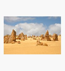 The Pinnacles at Nambung National Park Western Australia Photographic Print