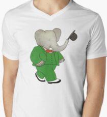 Babar l'Elephante Men's V-Neck T-Shirt