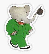 Babar l'Elephante Sticker