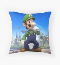 Super Smash Bros. Luigi Throw Pillow