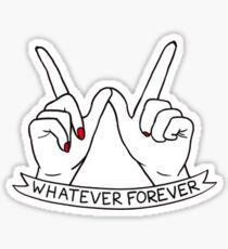 Modern Baseball Whatever Forever Sticker