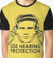 Use Hearing Protection (Factory)  Graphic T-Shirt
