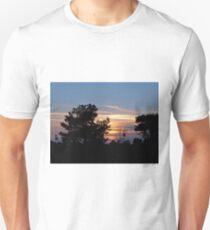 Sunset Over Ashdown Unisex T-Shirt