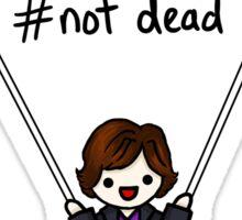 Sherlock with Parachute  Sticker