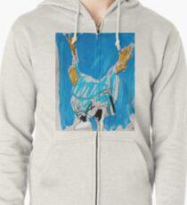 Shaolin Monk 8_CRANE Zipped Hoodie