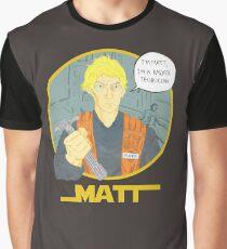 Matt The Radar Technician Graphic T-Shirt