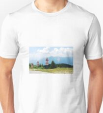 Road Signs at Top of Mountain T-Shirt