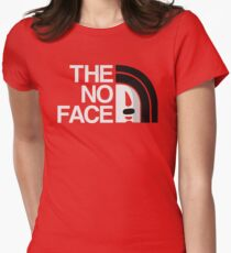 The No Face Women's Fitted T-Shirt