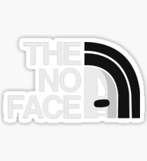 The No Face Sticker