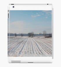 Snowy Field iPad Case/Skin