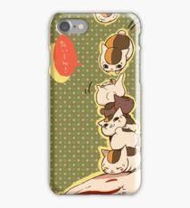 Nyanko sensei!! iPhone Case/Skin