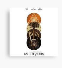 Knight Of Cups Poster Canvas Print