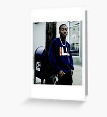 Dizzy Wright Coolin Greeting Card