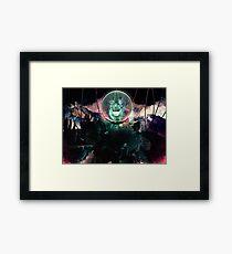 Wire Skull- Full Landscape Framed Print