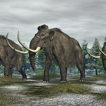 Woolly Mammoth by Skyviper