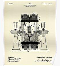 Electric Circuit Controller-1898 Poster