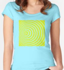 Doppler effect Women's Fitted Scoop T-Shirt