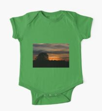 Sunset and clouds One Piece - Short Sleeve