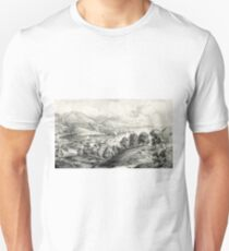 Darrynane Abbey - Ireland the Home of O'Connell - 1869 - Currier & Ives T-Shirt