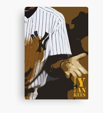 Yankees baseball team Canvas Print