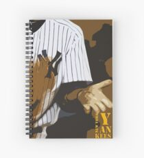 Yankees baseball team Spiral Notebook