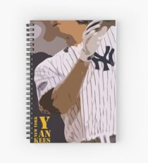 Baseball, New York Yankees, and bat Spiral Notebook