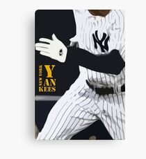 New York Yankees, run! Canvas Print